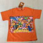 New Scooby Doo Shaggy Friendssky Orange T-SHIRT #405 For Age 3-8 Lovely