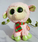 "NEW BY Ty BEANIES BOOS ~Irina Sheep lamb 9"" buddy Medium Stuffed animal plush"