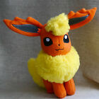 "NEW POKEMON EEVEE SERIES Flareon 8"" orange Stuffed Animal Plush Doll Toy"