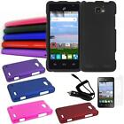Phone Case For Cricket ZTE Sonta 2 4G Hard Cover Car Charger Screen Protector