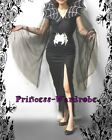 HALLOWEEN GIFT Slim Cut Spider Girl Witch Woman Teen Adult Party Costume 2PC Set