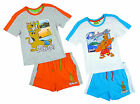 Boys Scooby Doo Holiday Coolsville T-Shirt & Shorts Cotton Set 3 4 6 8 Years