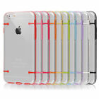 CLEAR HARD BACK SILICONE TPU BUMPER COVER CASE FOR NEW APPLE IPHONE 6