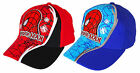 Boys Official Spiderman Vinyl Spidey Web Print Baseball Hat Sun Cap 3 - 12 Years