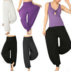 Casual Women Soft Yoga Belly Dance Comfy Loose Boho Wide Pant Trousers 4 Color