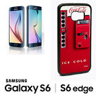 Coca Cola Vending Machine Samsung Galaxy S6 S6 Edge Plus Phone RUBBER Case cl3 $13.93  on eBay