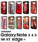Coca Cola Vending Machine Samsung Galaxy Note 8 9 S7 S8 S9 + Phone RUBBER Case $10.49  on eBay