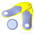 1 Pair Unisex Orthotic Sport  Shoes Pad Insoles Insert Arch Support Cushion new