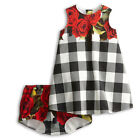 Gorgeous Baby Kids Girls Party Carnation FlowerRoyal Princess Dress Outfits 2-7Y