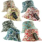 K Ice 2 in 1 REVERSIBLE BANDANA PAISLEY BUCKET BUSH FISHERMAN HAT