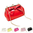 Candy Color Women Shoulder Bags Long Chain Leather Messenger Mini Crossbaody Bag