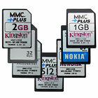 New 32/64/128/256/512MB 1/2GB MMC MultiMedia Memory Card +Plus 13Pins wholesale