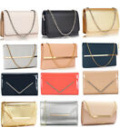 Ladies Large Flap Clutch Bag Women's Quality Fashion Evening Bag Wedding Clutch