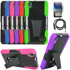 Phone Case For Huawei Pronto LTE / SnapTo LTE Cover Stand USB Charger Film