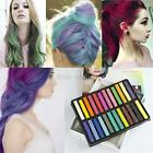 Non-toxic Temporary Hair Chalk Dye Soft Pastels Salon Kit Show Party 6-36 Colors