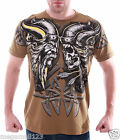 Artful Couture T-Shirt Tattoo Rock AR13 Sz M L XL XXL Skull Viking Biker mma