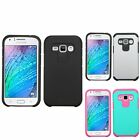 Astronoot Hybrid Hard Silicone Protective Cover Case For Samsung Galaxy J1
