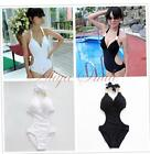 Women Sexy Push-up Padded Swimsuit One-piece Monokini Bikini Backless Swimwear
