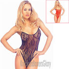 Sexy Lingerie Lace Bodystocking/Bodysuit Size 10,12,14 Black, Red