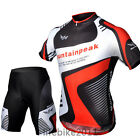 New arrival Cycling bicycle Jersey + short outdoor sports Clothing Bike Men's