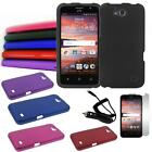 Phone Case For AT&T ZTE Maven Hard Cover Car Charger Screen Protector