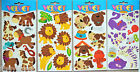 Velvet Touch Animal Stickers/Peeloffs Horse, Lion, Cat & Dog NEW
