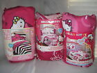 NEW HELLO KITTY TWIN OR FULL COMFORTER: SWEET SCENTS COLLEGE KITTY HELLO STYLE