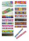 CLEARANCE - BIRTHDAY BANNERS (Decoration/Party/18th/21st/30th/40th/50th/60th)