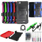 Phone Case For Huawei Raven LTE H892L Cover Stand Holster USBCharger Film Stylus