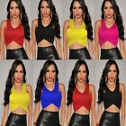 Women's Summer Loose Casual Short Sleeve T Shirt Top Blouse Party Clubwear