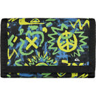 Quiksilver On Board Large Mens Wallet/purse Wallet - Cave Rave Neon Green