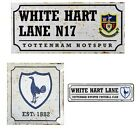 TOTTENHAM HOTSPUR RETRO METAL SIGNS ( Street ,Door)Official Club Merchandise
