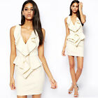 New Sexy Women Bodycon Cocktail Party Evening Clubwear Pencil Mini Dress V-neck