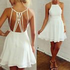 Sexy Women Summer Casual Sleeveless Party Evening Cocktail Club Short Mini Dress