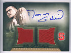 2013 Quantum Legacy Roman Gabriel Dual Jersey On Card Autograph #08/15 NC STATE