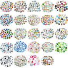 10PCs Mixed Glass Embellishments Flatbacks Cabochon For Phone Decor Carft DIY