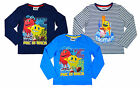 Boys Official Pacman Pac is Back Long Sleeve Cotton Top 3 4 6 8 Years NEW