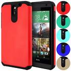 Liquid Armor Hybrid Slim Fit Dual Layer Shockproof Case Cover For HTC Desire 610
