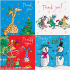Woodmansterne Quentin Blake Christmas Thank You Cards Pack of 10 Xmas Seasonal