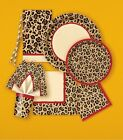 CHEETAH Birthday Party Items (Tableware, Balloons and Decorations)