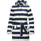 Helly Hansen Lyness Insulated Womens Jacket Coat - Evening Blue Stripe All Sizes