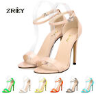 LADIES GIRLS' SEXY OPEN TOE BRIDAL HIGH HEELS SHOES SANDALS FOR WEDDING PARTY