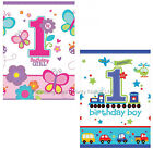 1st First Birthday Party Plastic Tablecover Tablecloth Disposable Table Cover
