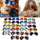 Classic Men Aviator Mirror Lens Reflective Sunglasses Polarized Glasses Unisex