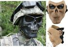 Skeleton Skull Cacique Warrior Airsoft Paintball Pliable Full Face Mask Guard