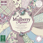 First Edition 6x6 Premium Paper Pad - MULBERRY KISSES - Free UK p&p Cardmaking