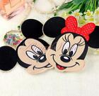 Cartoon Mickey Minnie Mouse Embroidery Patch Iron/Sew Applique Accessory Clothes