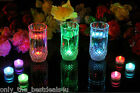 Submersible Waterproof LED Tea Light Candles Battery Operated Wedding Vase XMAS