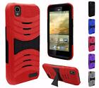 For ZTE Warp Elite N9518 New Hybrid U-Kickstand Cover Case