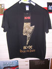 AC/DC - ROCK OR BUST LIGHTNING T-SHIRT XL ONLY MINT/BRAND NEW + FREE UK P&P